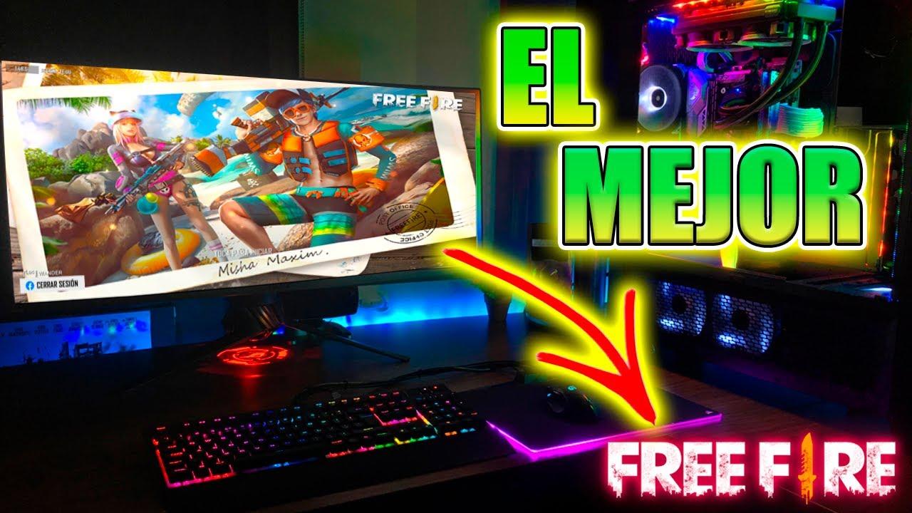 mejor emulador free fire